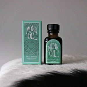 monk oil Palo Santo Oil