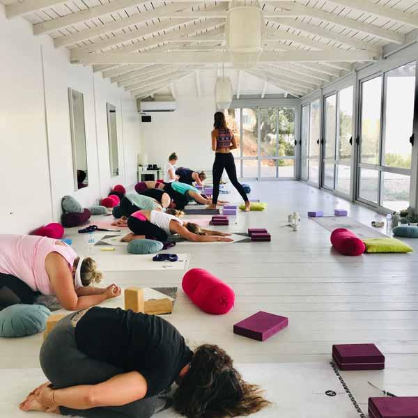 Lefkada, Greece group yoga