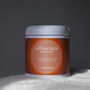 the fullest saffron latte small