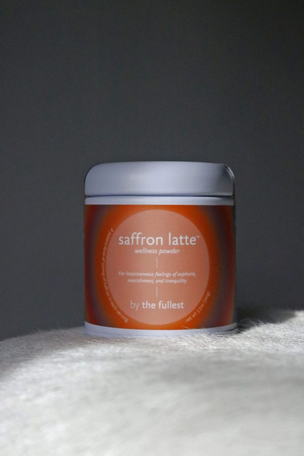 the fullest saffron latte small